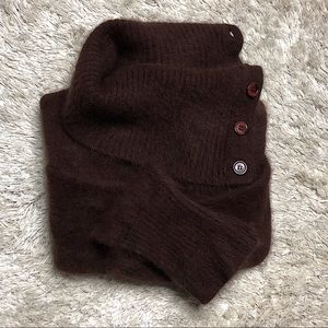 Angora wool sweater